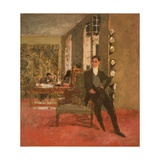 The Art Dealers (The Bernheim-Jeune Brothers) 1908 Giclée-Druck von Edouard Vuillard
