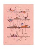Untitled, 1940 Gicléetryck av Wassily Kandinsky