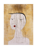 Sealed Woman; Versiegelte Dame, 1930 Giclee-trykk av Paul Klee