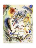 Untitled, 1915-1917 Gicléetryck av Wassily Kandinsky