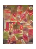 Architecture at the Window, 1919 Giclee-trykk av Paul Klee