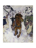 Galloping Horse, 1910 Giclée-tryk af Edvard Munch