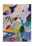 Murnau with Church I, 1910 Giclée-vedos tekijänä Wassily Kandinsky