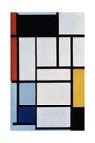 Composition with Red, Black, Yellow, Blue and Grey, 1921 Reproduction procédé giclée par Piet Mondrian