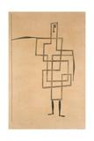 Prince, 1930 Gicléetryck av Paul Klee