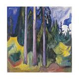 Wood, 1903 Giclee-trykk av Edvard Munch