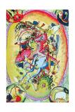 Apocalypse Riders Giclée-vedos tekijänä Wassily Kandinsky