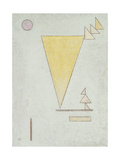 Bianco, 1930 Stampa giclée di Wassily Kandinsky