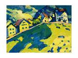 Summer Landscape, 1909 Lámina giclée por Wassily Kandinsky