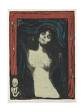 Madonna - Liebendes Weib, C. 1895-1902 Giclée-vedos tekijänä Edvard Munch