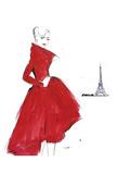 Dior and Paris Plakater av Jessica Durrant