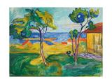 The Garden in Asgardstrand, 1904-1905 Giclée-vedos tekijänä Edvard Munch