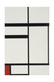 Composition with Red, Black and White, 1931 Giclée-vedos tekijänä Piet Mondrian