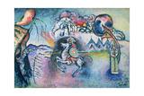 St. George, 1914-15 Giclée-tryk af Wassily Kandinsky