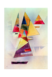 Composition, 1930 Gicléetryck av Wassily Kandinsky