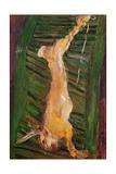Hare on a Green Shutter, C.1924-25 Giclée-tryk af Chaim Soutine