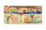 Park Landscape, 1920 Giclee-trykk av Paul Klee