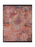 Blue-Winged Birds, 1925 Giclée-tryk af Paul Klee