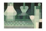 Floodgates, 1922 Giclee-trykk av Paul Klee