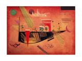 Whimsical, 1930 Giclée-tryk af Wassily Kandinsky
