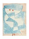 Ein Kind Geht Nach Hause, 1933 Giclee-trykk av Paul Klee
