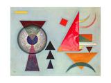 Weiches Hart (Soft Hard), 1927 Giclee-trykk av Wassily Kandinsky