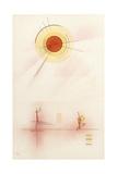 Sunshine, 1929 Lámina giclée por Wassily Kandinsky