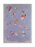 Sky Blue, 1940 Giclée-tryk af Wassily Kandinsky