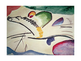 Abstract Horse, 1911 Giclée-tryk af Wassily Kandinsky