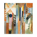 The Forest That Grew from the Seed; Der Wald Der Aus Dem Samenkorn Entstand, 1915 Giclee-trykk av Paul Klee