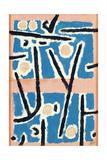 Untitled (Signs of Growth), 1937 Reproduction procédé giclée par Paul Klee