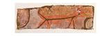 Red Predator, 1938 Giclee-trykk av Paul Klee
