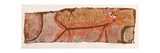 Red Predator, 1938 Giclée-tryk af Paul Klee