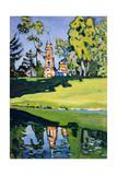 Red Church, 1900 Giclée-vedos tekijänä Wassily Kandinsky