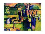 Arabian Graveyard, 1909 Giclée-vedos tekijänä Wassily Kandinsky