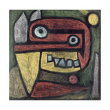 Untitled (Mask: Wild Animal) C.1939 Giclee-trykk av Paul Klee