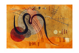 Launelinie, 1927 Giclee-trykk av Wassily Kandinsky