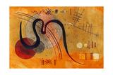 Launelinie, 1927 Giclée-Druck von Wassily Kandinsky