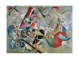 In the Grey, 1919 Giclée-tryk af Wassily Kandinsky