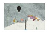 Winter Picture; Winterbild, 1930 Giclee-trykk av Paul Klee
