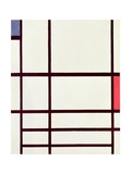 Composition in Red, Blue and White: II, 1937 Giclée-vedos tekijänä Piet Mondrian