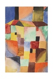 Red/Green Orange/Blue, 1919 Giclée-tryk af Paul Klee