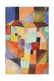 Red/Green Orange/Blue, 1919 Gicléetryck av Paul Klee