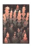 Ripening Growth, 1921 Gicléetryck av Paul Klee