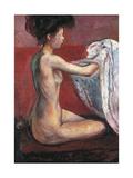 Paris Nude, 1896 Giclee-trykk av Edvard Munch