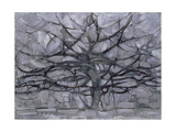 The Gray Tree, 1911 Giclee-trykk av Piet Mondrian