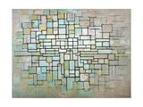 Compostion No. II, 1913 Reproduction procédé giclée par Piet Mondrian