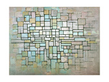 Compostion No. II, 1913 Lámina giclée por Piet Mondrian