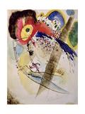 Exotic Birds, 1915 Giclée-tryk af Wassily Kandinsky