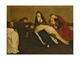 Copy after the Pieta De Villeneuve-Les-Avignon, 1913-14 Lámina giclée por Piet Mondrian